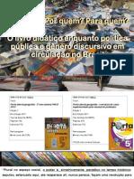 O Livro Didático Enquanto Política Pública e Gênero
