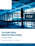 Can Public Policy Break the Glass Ceiling? Lessons from Abroad