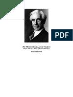 The Philosophy of Logical Analysis - Bertnard Russell