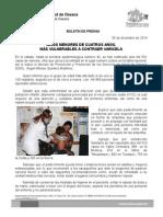05 de diciembre de 2014.- Niños menores de cuatro años, más vulnerables a contraer varicela.doc