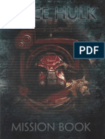 SpaceHulk 4th Edition Mission book 2014