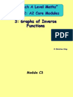 Graphs of Inverse Functions (1)