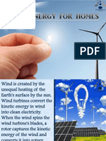 Wind Energy for Homes