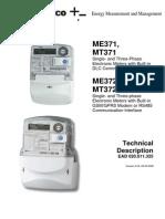 Iskraemeco Mx37y Technical Description