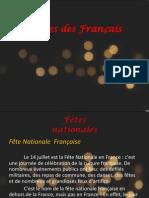 Les Fêtes Des Français