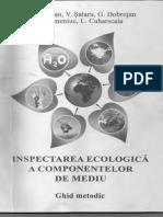 Inspectarea Ecologica a Componentelor de Mediu
