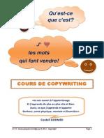Cours de Copywriting_Niveau 1