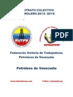 Convencion Colectiva Petrolera 2013-2015