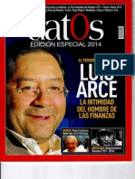 Revista Datos, Ministro Luis Arce.PDF