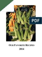 2014 Cookbook
