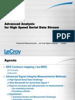 LeCroy Advanced Analysis for High Speed Data Stream