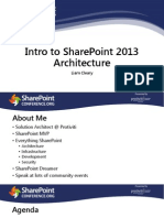 Intro to SharePoint 2013 Architecture