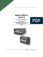 Model 24/Mini-X Series II Product Manual