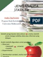 Analisa Statistik