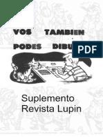 178051956 LUPIN Suplemento Tecnico Vos Tambien Podes Dibujar Ediciones GDS PDF