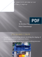 Design of 3000 Ton Forge Press (1)