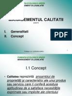 Curs 7 Managementul Calitatii