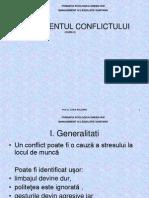 Curs 9 Managementul Conflictului