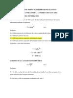 Procedimiento de Cálculo de Fuerzas Sísmicas Estáticas Según La Cec