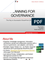 Best Practices for SharePoint 2010 Governance-Hanley
