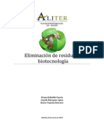 Biotecnología y residuos