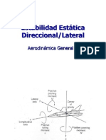 Estabiliad Direccional Lateral Cálculo