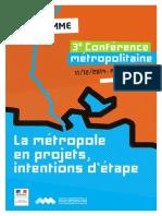 Programme Conf Métropolitaine 11 déc 2014