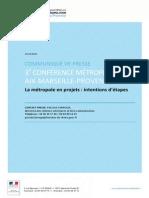 Communiqué Conf Métropolitaine 11 déc 2014