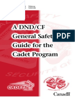 General Safety Guide Cadets