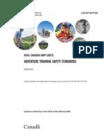 Adventure Training Safety Standards
