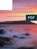 19 June 09 - Final Printmedia-executed eBook Format OfDistinctives of Patriarchal Christianity