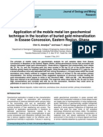 Application of the Mobile Metal Ion g Article1380033154_Amedjoe and Adjovu