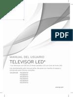 Manual de usuario lg televisor LED 32LB583B, 42LB5830,  47LB5830, 50LB5830, 55LB5830, 60LB5830, 65LB5830