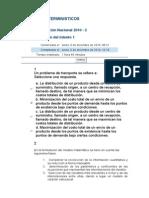 Metodos Deterministicos Evaluacion Final