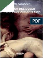162745425 Erotica Del Duelo en Tiempos de La Muerte Seca