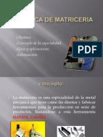Mecanica de Matriceria