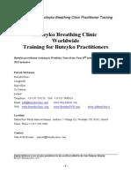 Buteyko Practitioner Training App