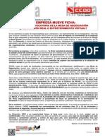 Comunicado_Política_SIndical,_Negociación_Colectiva_y_Em  =_ISO-8859-1_Q_pleo=5F15D=2C_4=AA_mesa_de_negociaci=F3n_del_Convenio=5F10=2D12=2D2014=5F__