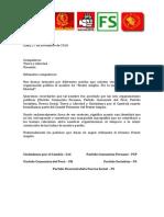 Carta a TyL 2014