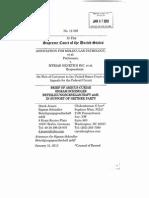 Brief of Amicus Curiae Sigram Schindler Beteiligungsgesellschaft mbH, in Support of Neither Party, Association for Molecular Pathology v. Myriad Genetics Inc.