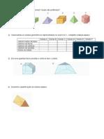 Sólidos Geométricos 6º Ano