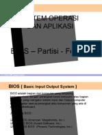 Bios Partisi Format