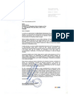 Cartas sobre DDHH LTGBI en Egipto