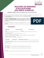 Formula i Red e Demanded Allocations