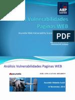 Análisis Vulnerabilidades Paginas WEB