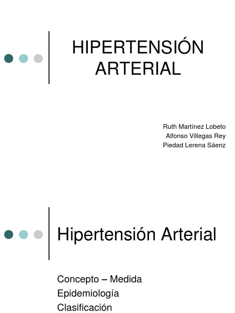 HIPERTENSION ARTERIAL PPT