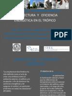Arquitectura y Eficiencia Energetica en El Tropico