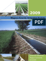 Development of Magoya Gravity Irrigation System