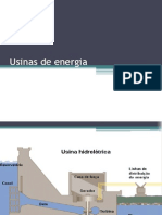 Usinas de Energia