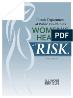 Illinois Department of Public Health Puts Women's Health at Risk